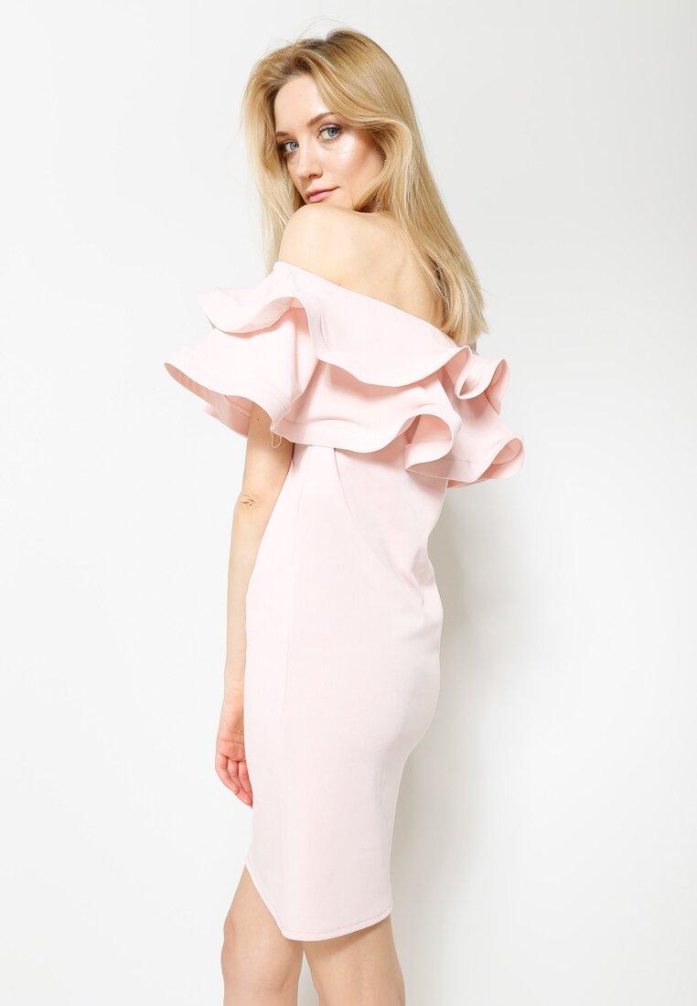 Różowa Sukienka Love Them