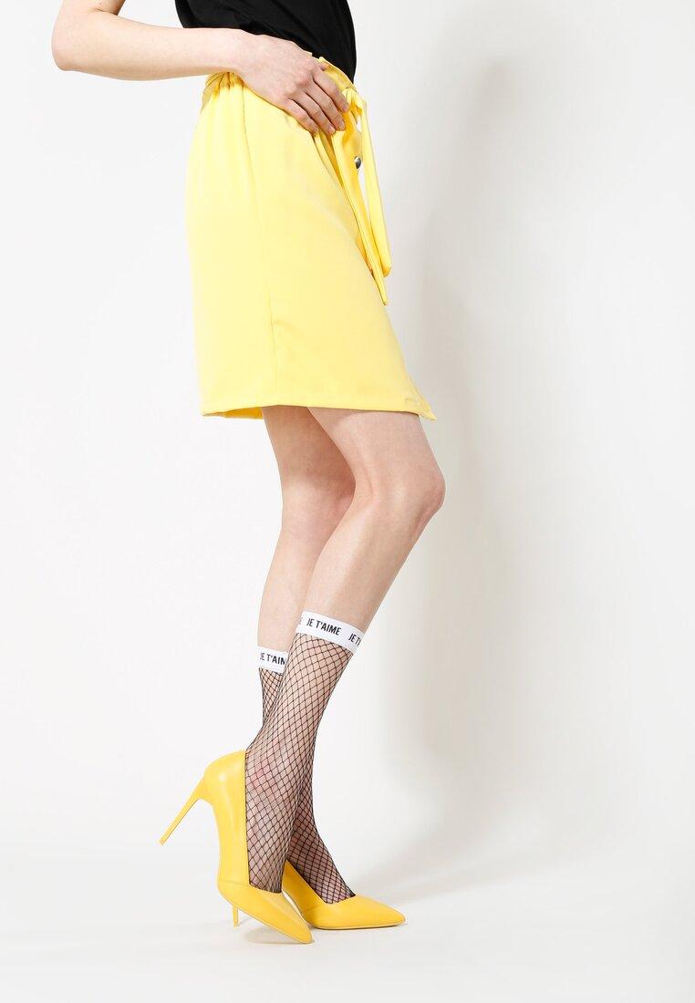 Żółta Spódnica Wild Wind