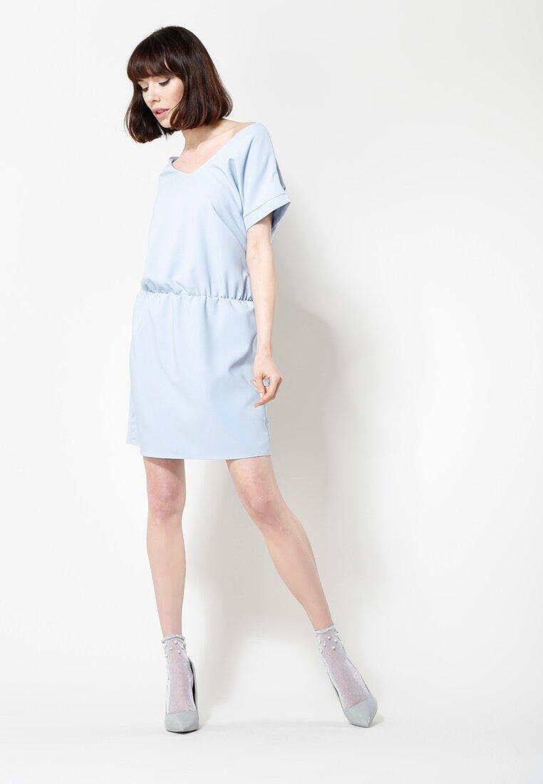 Jasnoniebieska Sukienka Get It!