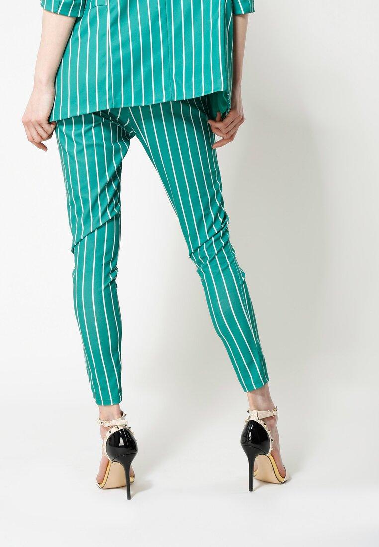 Zielone Spodnie Go For It