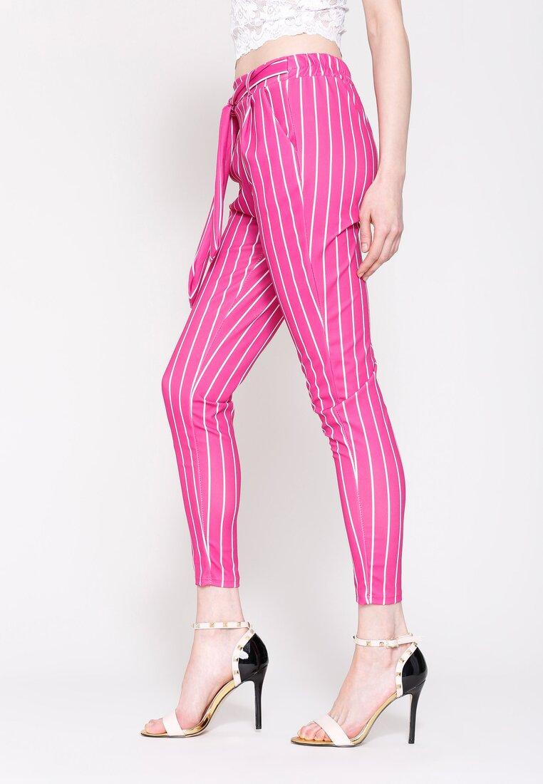 Fuksjowe Spodnie Go For It