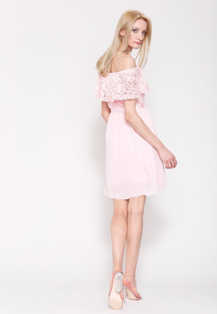 Różowa Sukienka Things We've Done