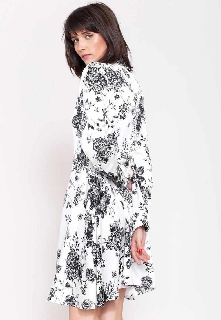 Biało-Czarna Sukienka Princes Lily