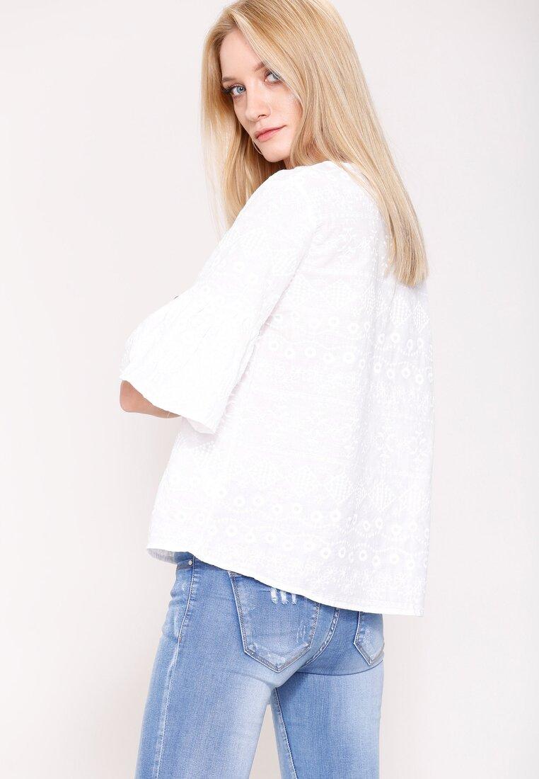 Biała Bluzka Simple Time