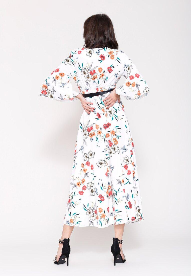 Biała Sukienka Cherry Land