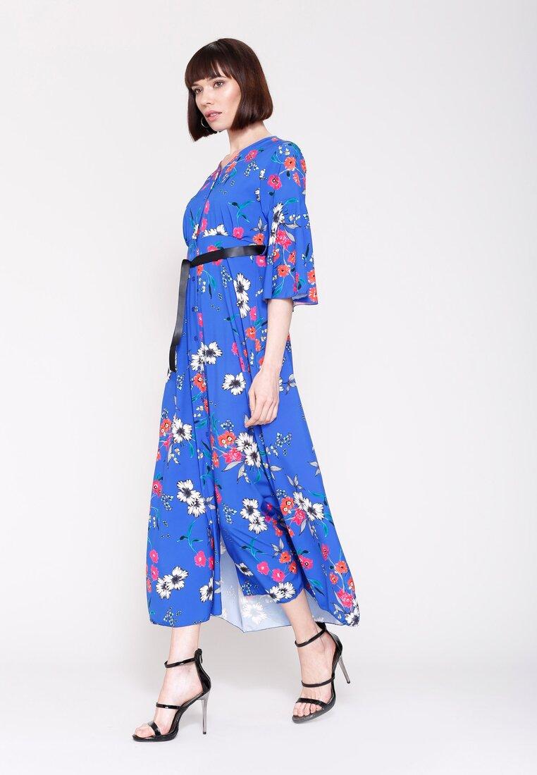 Niebieska Sukienka Cherry Land