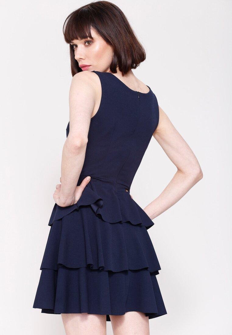 Granatowa Sukienka Hot Touch