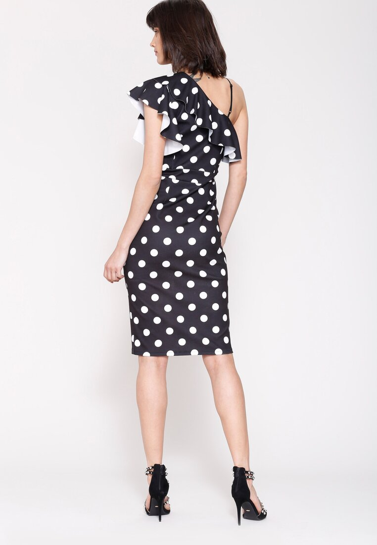 Czarna Sukienka I Like Dots