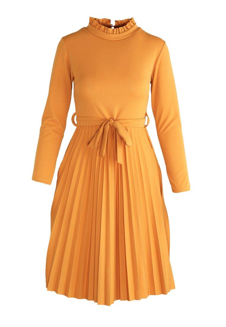 Camelowa Sukienka For You