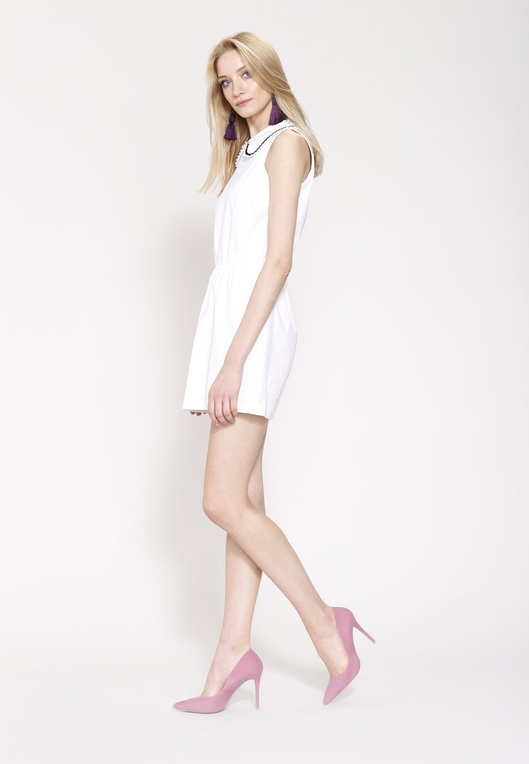 Biała Sukienka Secret Void