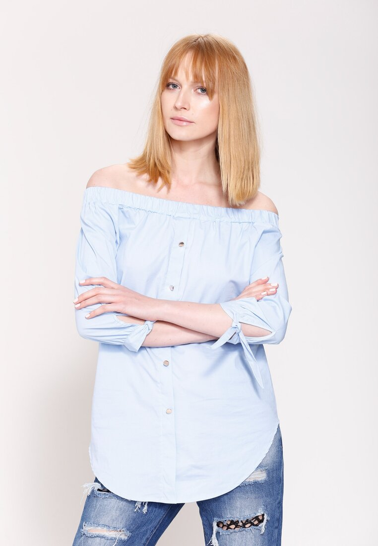 Niebieska Bluzka Lifestyle