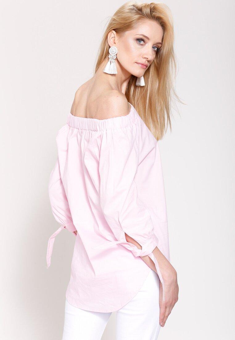 Różowa Bluzka Lifestyle