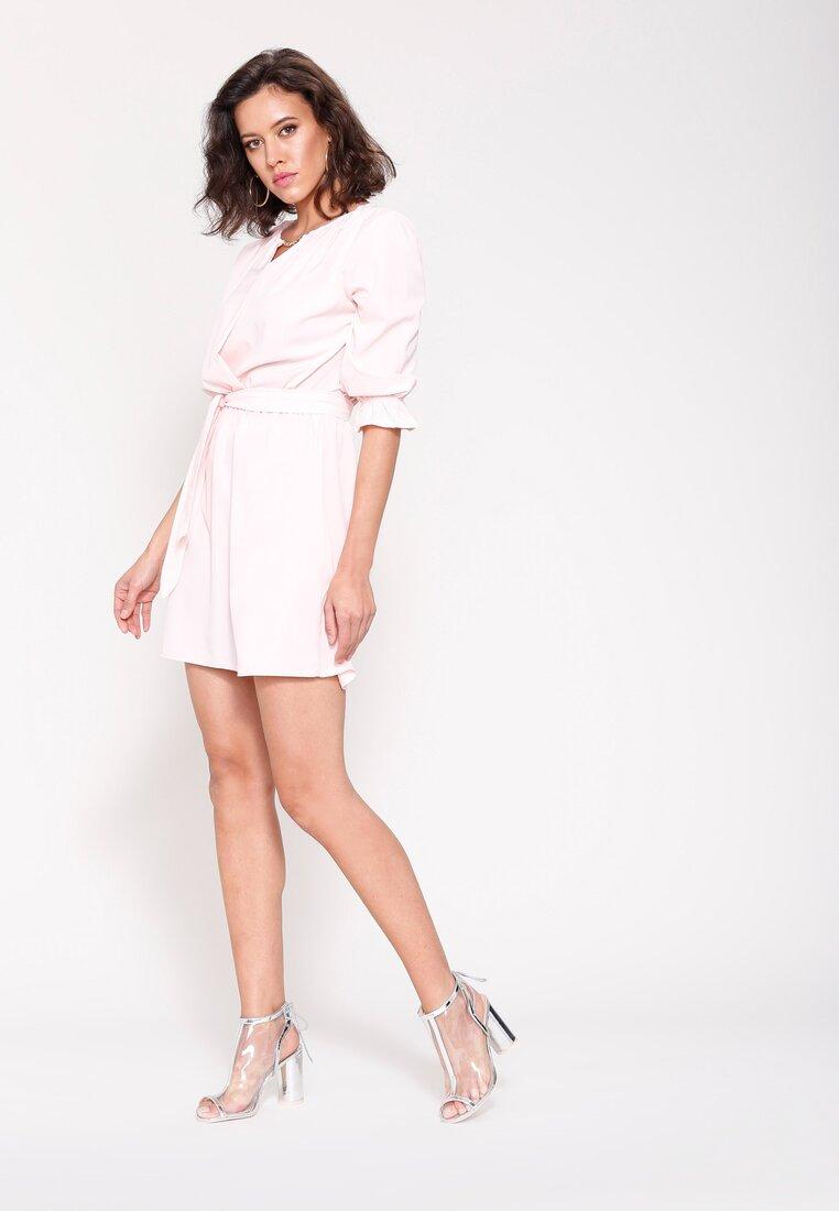 Różowa Sukienka Just Say No