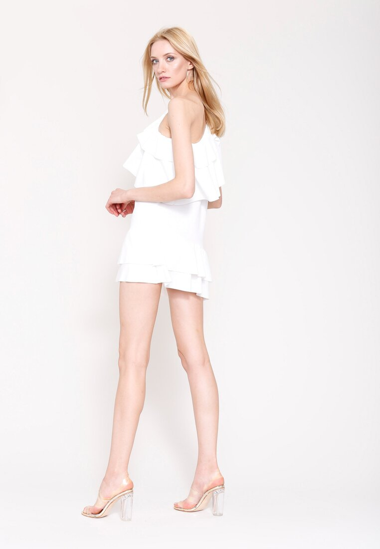 Biała Sukienka Hey Baby