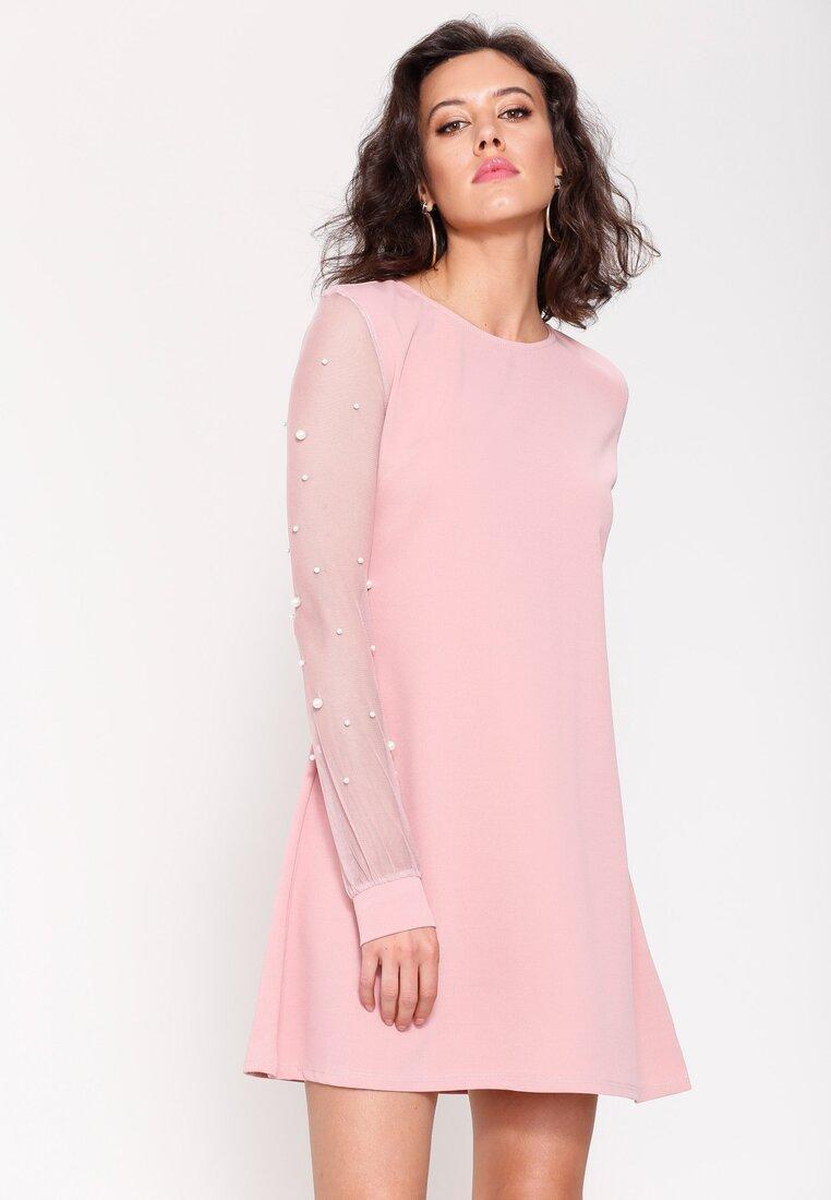Łososiowa Sukienka Go Everywhere