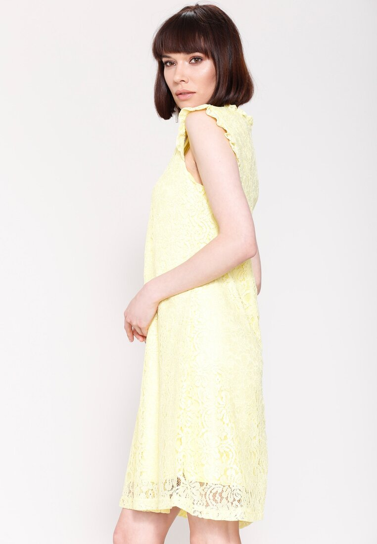 Żółta Sukienka You Are Not There