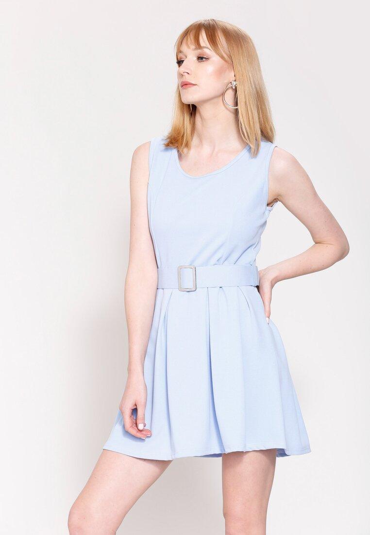 Jasnoniebieska Sukienka Central Park