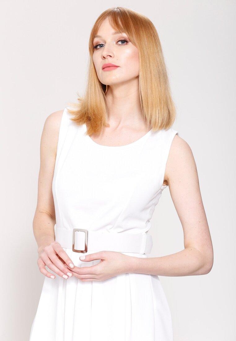 Biała Sukienka On My Way