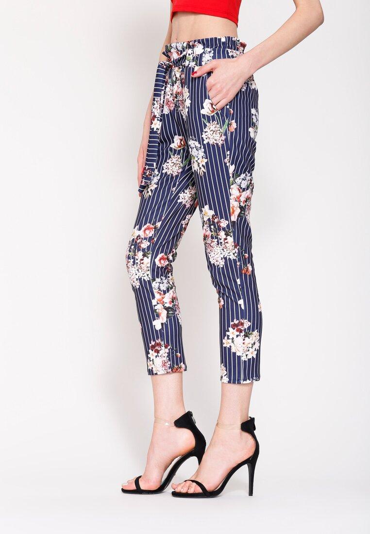 Granatowe Spodnie Flower's Song
