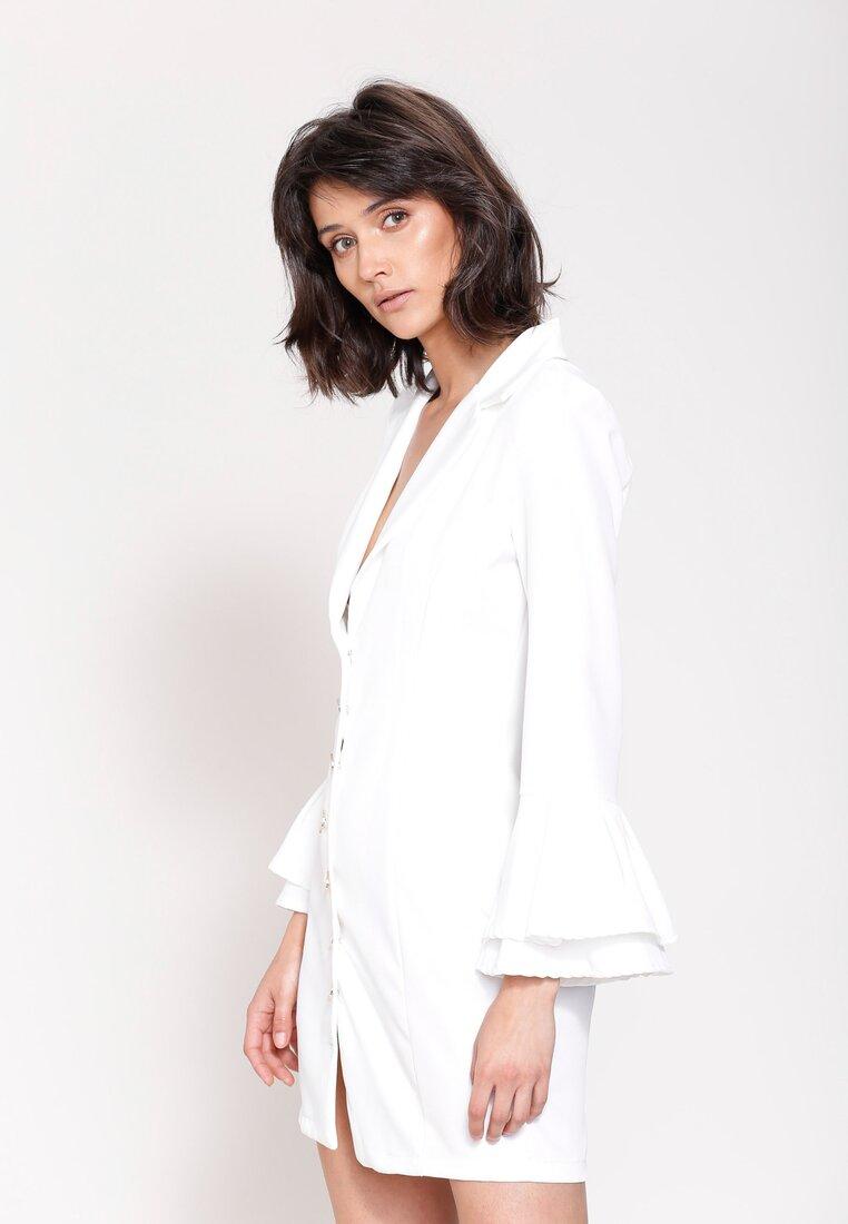 Biała Sukienka Someone Like You