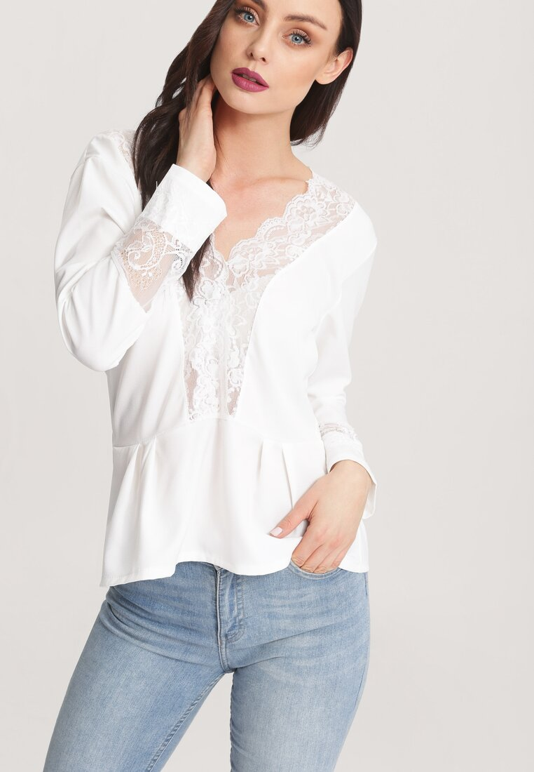 Biała Bluzka Color Of Autumn