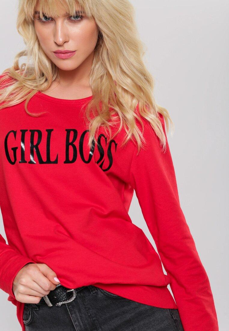 Czerwona Bluza Girl Rule