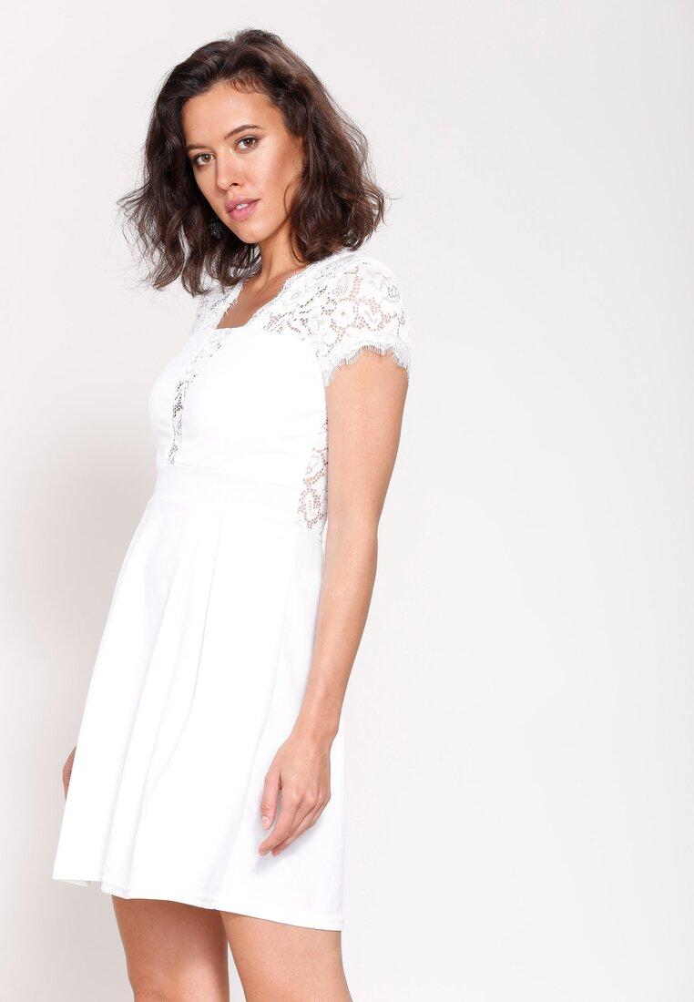 Biała Sukienka Dreaming Of You