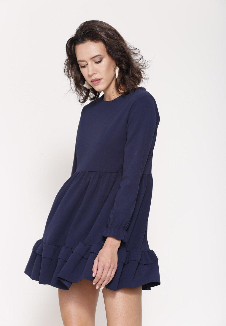Granatowa Sukienka Magic Strand