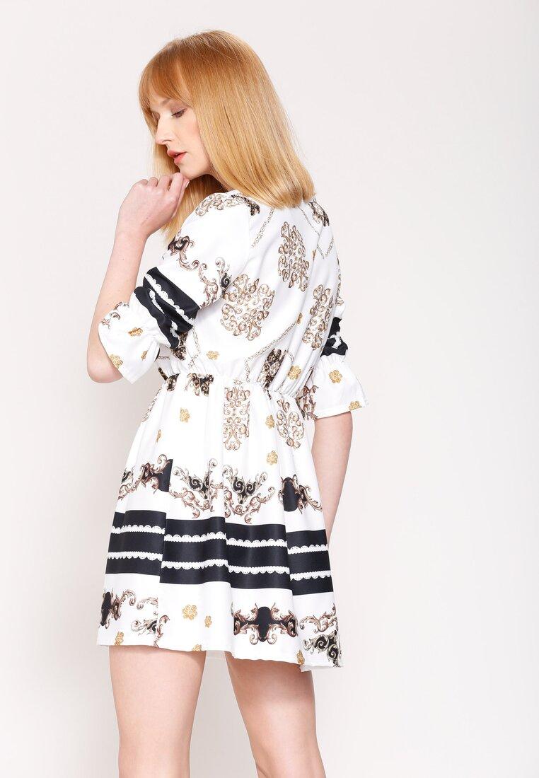 Biała Sukienka Belle Florist