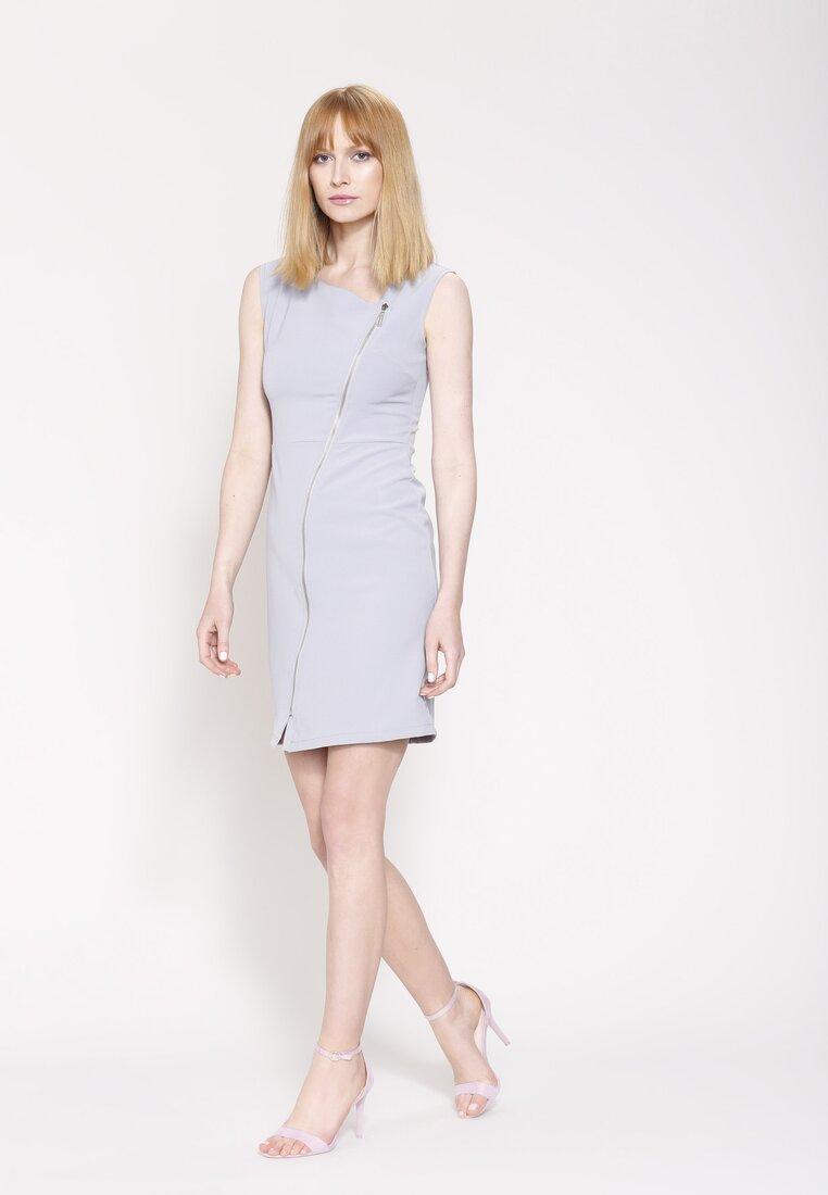 Szara Sukienka Fresh Idea