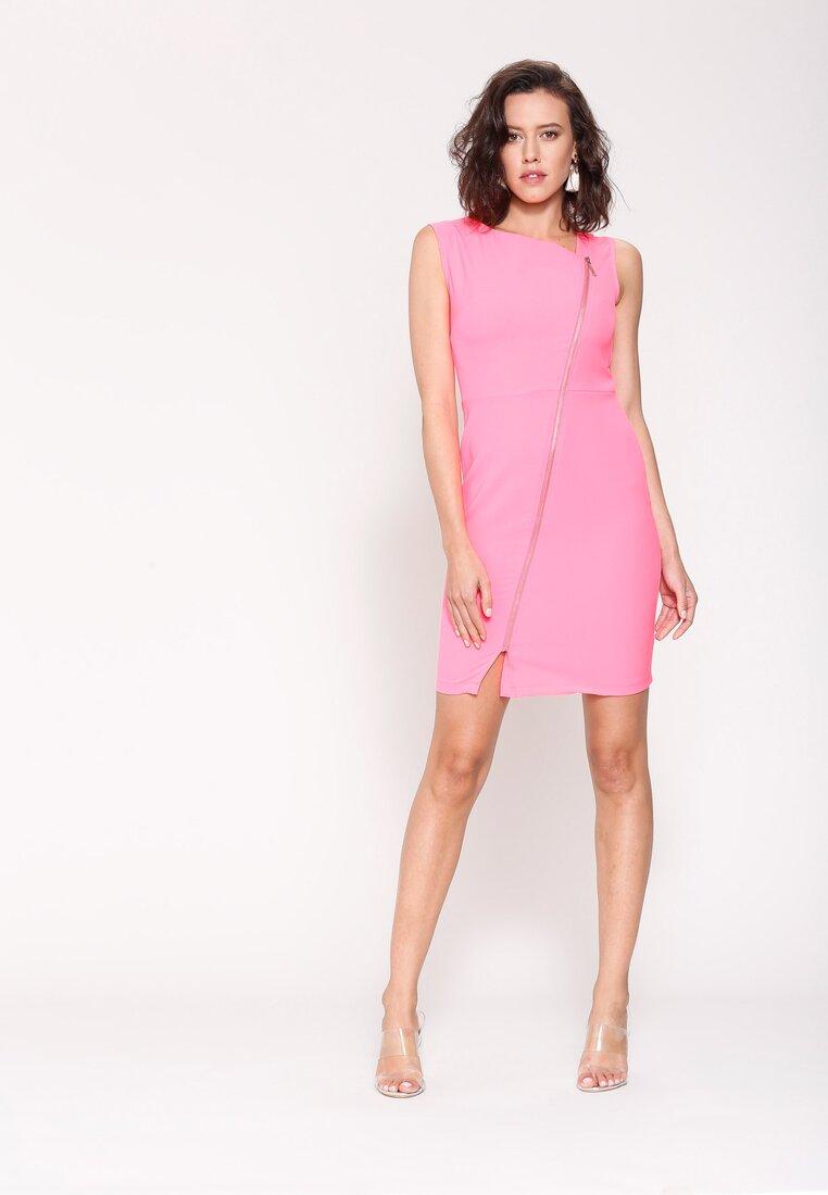 Koralowa Sukienka Fresh Idea