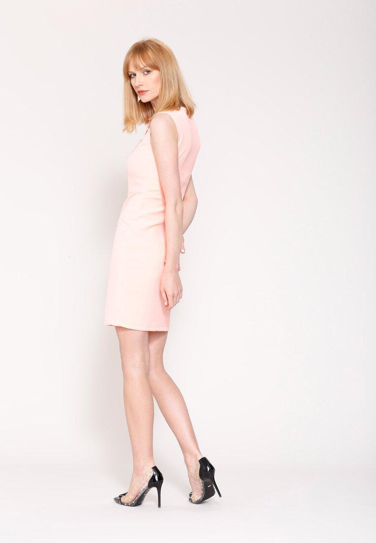 Łososiowa Sukienka Fresh Idea