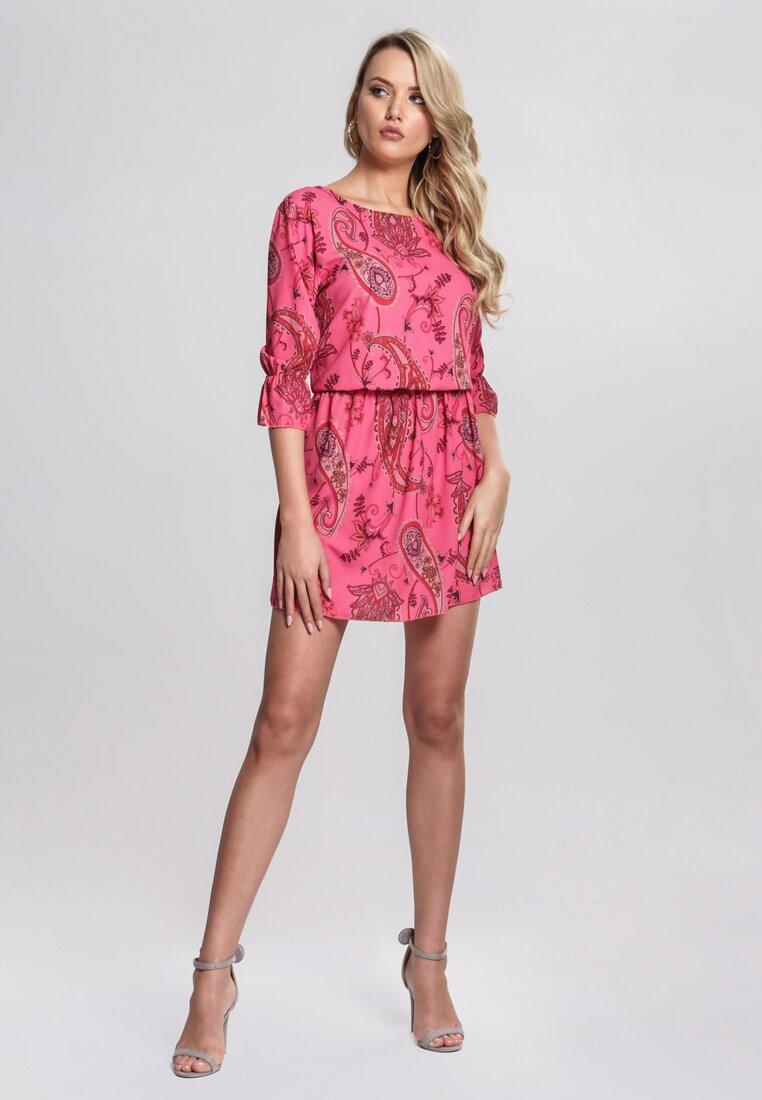 Koralowa Sukienka Oh Baby All