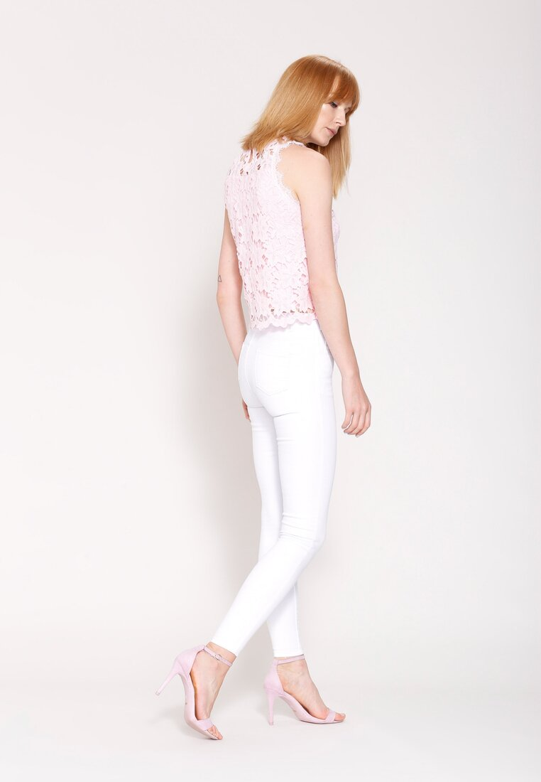 Różowa Bluzka Jump Baby