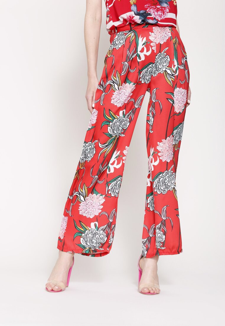 Czerwone Spodnie Ready For Anything