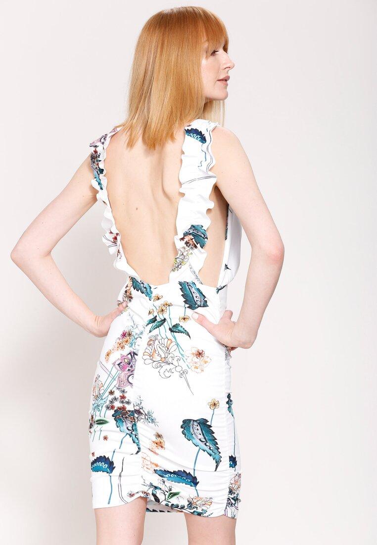Biała Sukienka Classy Look