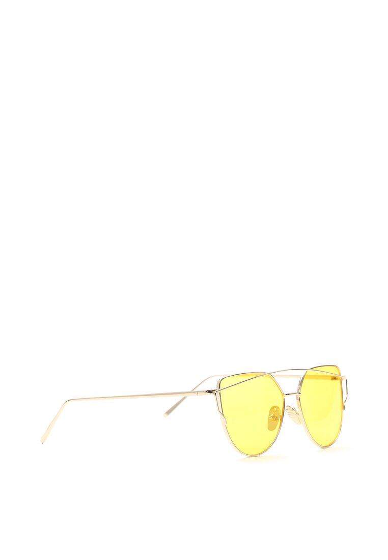 Złoto-Żółte Okulary To My Knees