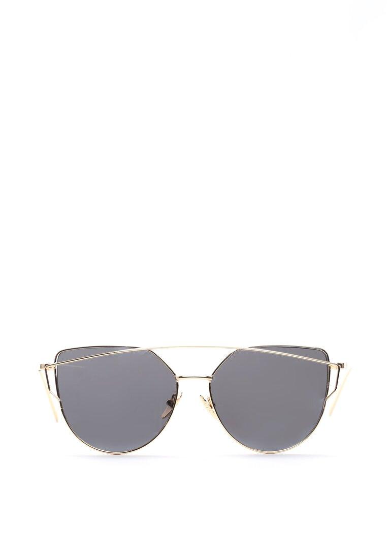 Czarno-Złote Okulary To My Knees