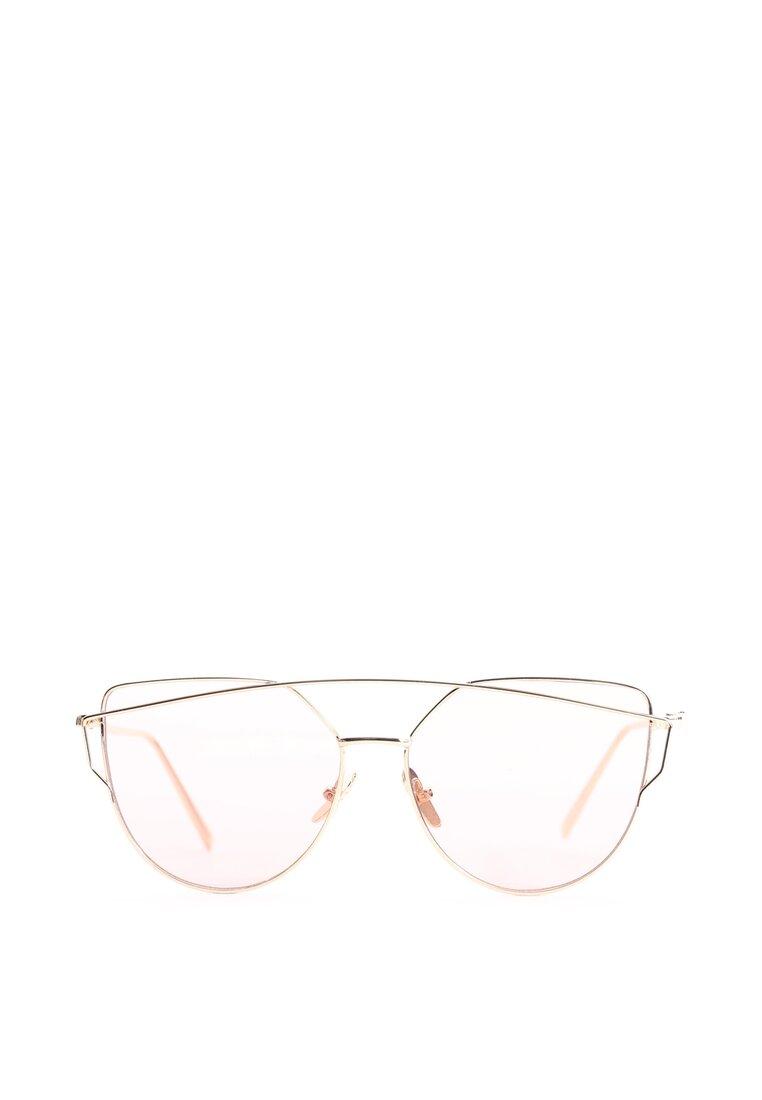 Złoto-Różowe Okulary To My Knees