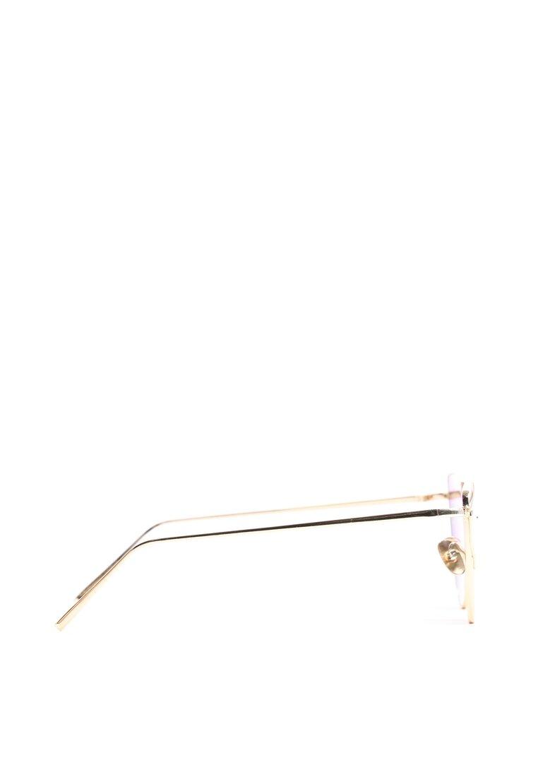Fioletowo-Złote Okulary To My Knees