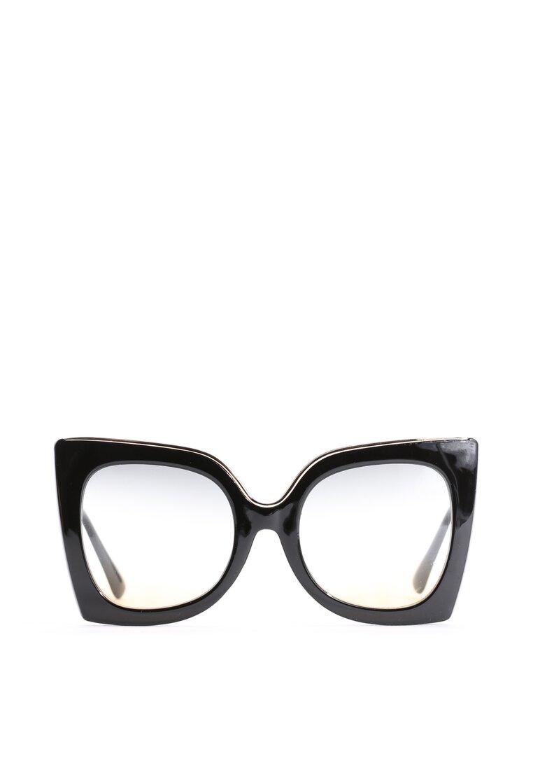 Czarno-Zielone Okulary Almost Unreal