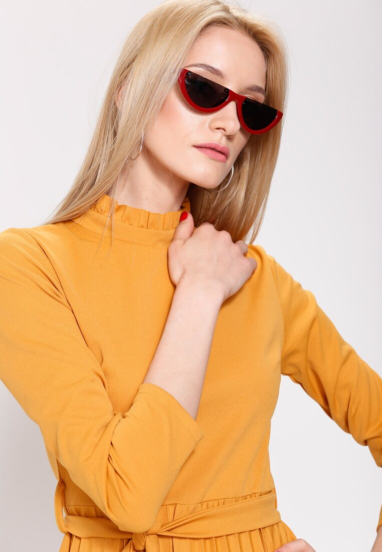 Czarno-Czerwone Okulary Waiting On You