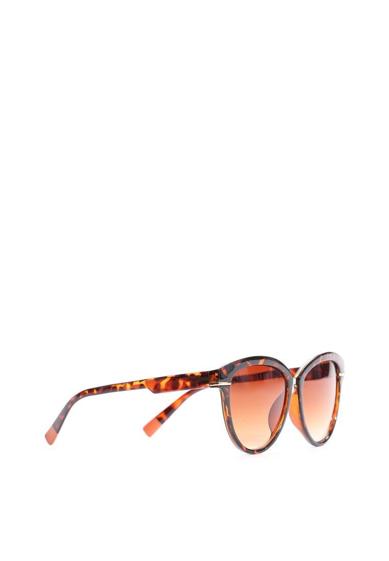 Czarno-Pomarańczowe  Okulary Blinding