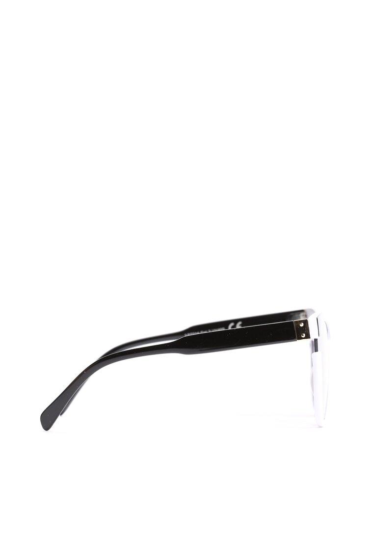 Biało-Czarne Okulary We're Cool