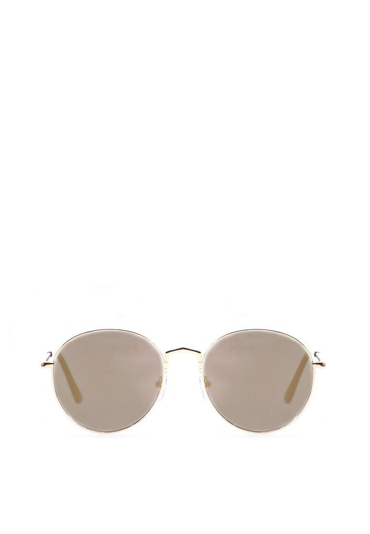 Złoto-Zielone Okulary See the Sun