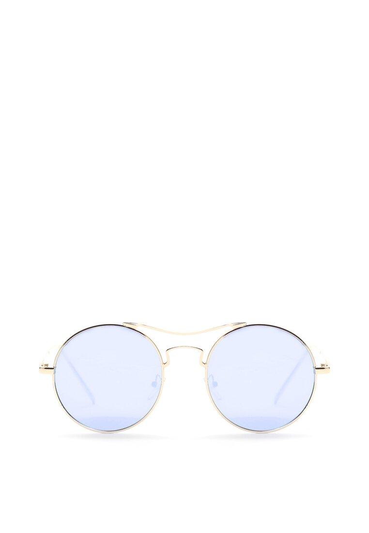 Złoto-Niebieskie Okulary See the Sun