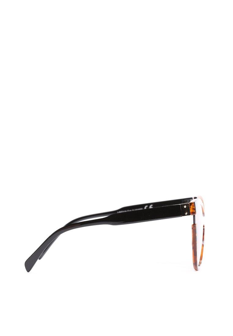 Pomarańczowo-Czarne Okulary We're Cool