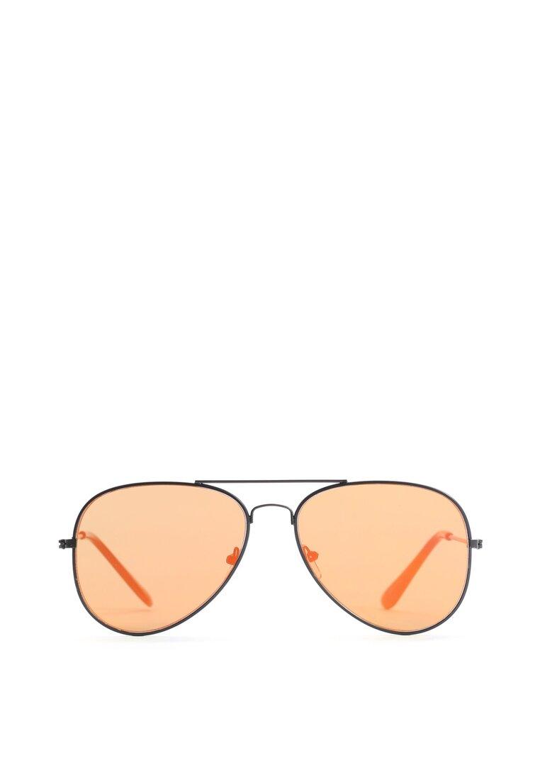 Czarno-Żółte Okulary Have a Nice Day