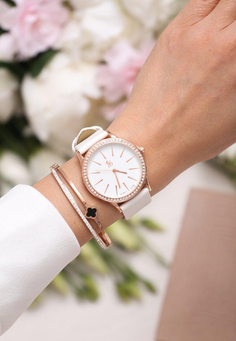 Biało-Złoty Zegarek I Have Us
