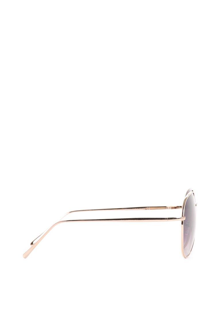 Złoto-Czarne Okulary Brown Sugar